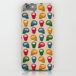 Death Kraft Pattern iPhone Case