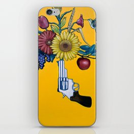 Swords Into Plowshares iPhone Skin