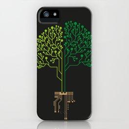 Technology Tree iPhone Case