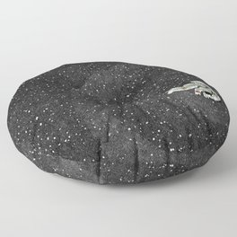 ALONE AT NIGHT Floor Pillow