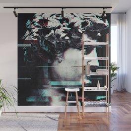 Abstract fractions of David Wall Mural