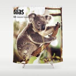 2020 Koala2 Shower Curtain