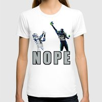 nope T-shirts featuring NOPE by Gold Lining