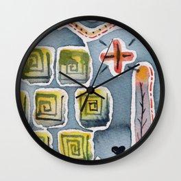 Farmland 3 Wall Clock