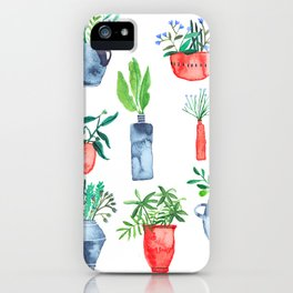 House plants iPhone Case