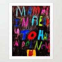 Hey Mama! Art Print