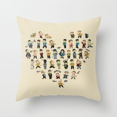Have you seen my t'hy'la? Throw Pillow