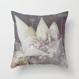 Harmonic Broadcast  Throw Pillow