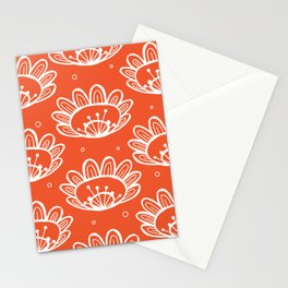 Pollen (in Orange) Stationery Cards
