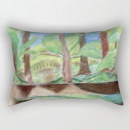 Flash of Scenery Rectangular Pillow