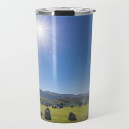 Castlerigg Stone Circle in English Lake District Travel Mug
