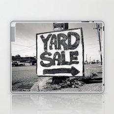 Yard sale sign Laptop & iPad Skin