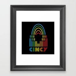 Cincy Pride! Framed Art Print