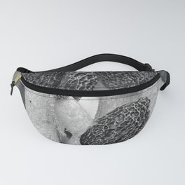 Fungi in black and white Fanny Pack