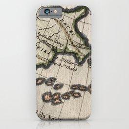 1780 Bonne Chart Russia Alaska America iPhone Case