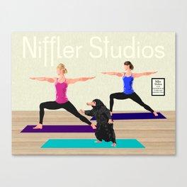 Niffler Yoga Studio Canvas Print