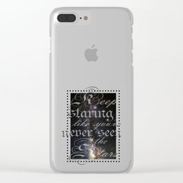 The Stops Clear iPhone Case