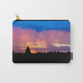 Sunset in Bagan, Myanmar Carry-All Pouch