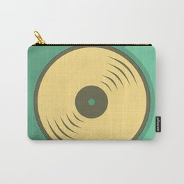 Vinyl records icon illustration Carry-All Pouch