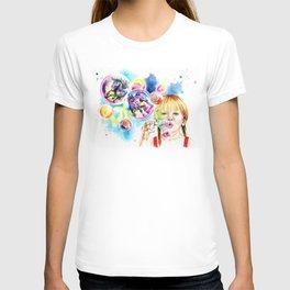 The bubble unicorns T-shirt
