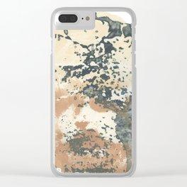 Erosion Clear iPhone Case