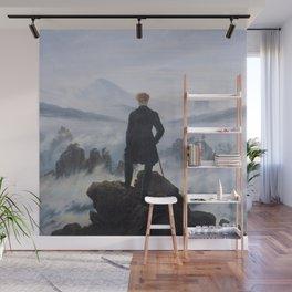 Wanderer above the Sea of Fog - Caspar David Friedrich Wall Mural