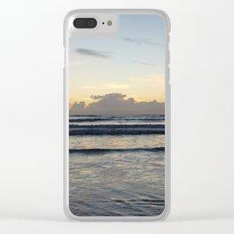 Breaking Tide Clear iPhone Case