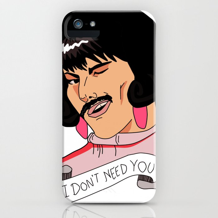 i want to break free - freddie iphone case
