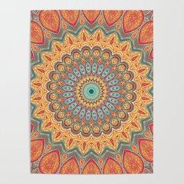 Jewel Mandala - Mandala Art Poster