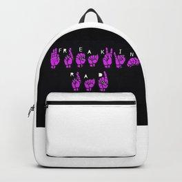 Freakin' Rad Backpack