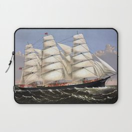 Clipper Ship Three Brothers Laptop Sleeve