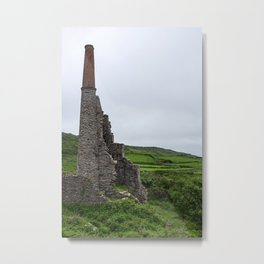 Ruin of old mill Metal Print