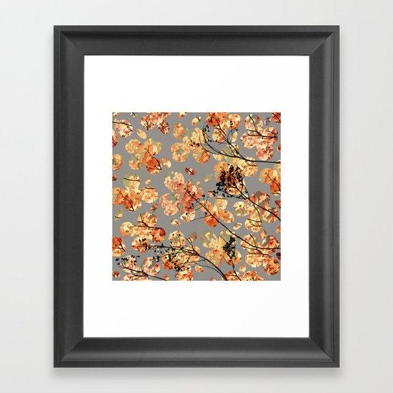 Dogwood Quilt Framed Art Print