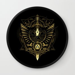 Triforce The True Heroes Wall Clock