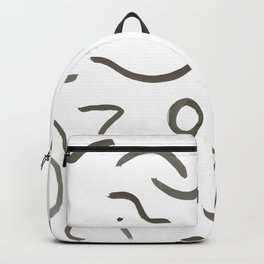 Stroke Abstract Backpack