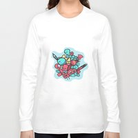 doodle Long Sleeve T-shirts featuring Doodle by Frostwindz