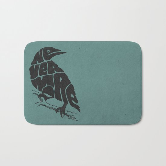 Quoth the raven Bath Mat