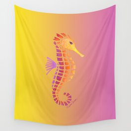Sunset Seahorse Wall Tapestry