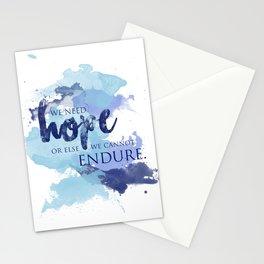 ACOTAR -- Hope & Endure Stationery Cards