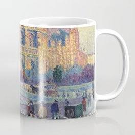 "Maximilien Luce ""The Quai Saint-Michel and Notre-Dame"" Coffee Mug"