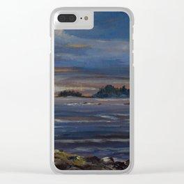 Long Beach, Tofino Clear iPhone Case
