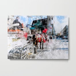 Cracow art 27 #cracow #krakow #city Metal Print