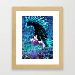 Colorful Shinigami Framed Art Print