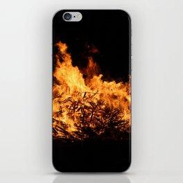 Bonfire iPhone Skin