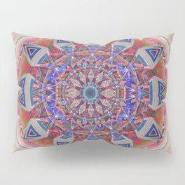 Holy Roller Glowing Boho Meditation Neo Tribal Mandala Pillow Sham