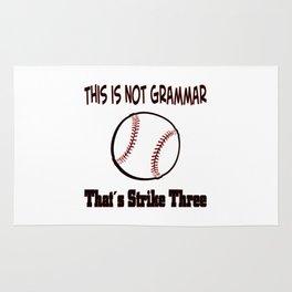 Baseball Season 2018 Rug