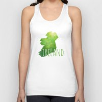 ruben ireland Tank Tops featuring Ireland by Stephanie Wittenburg