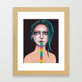 UNTITLED RAINBOW Framed Art Print