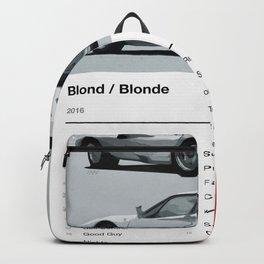Blonde Tracklist Backpack