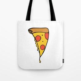 Cheesy Slice of Pizza Tote Bag